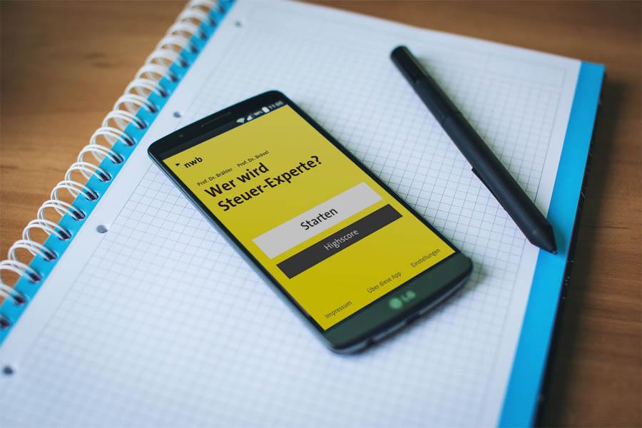 Apps und Webseiten, die Dir in der Steuerfachangestellten-Ausbildung helfen, gibt es einige. Mit der App